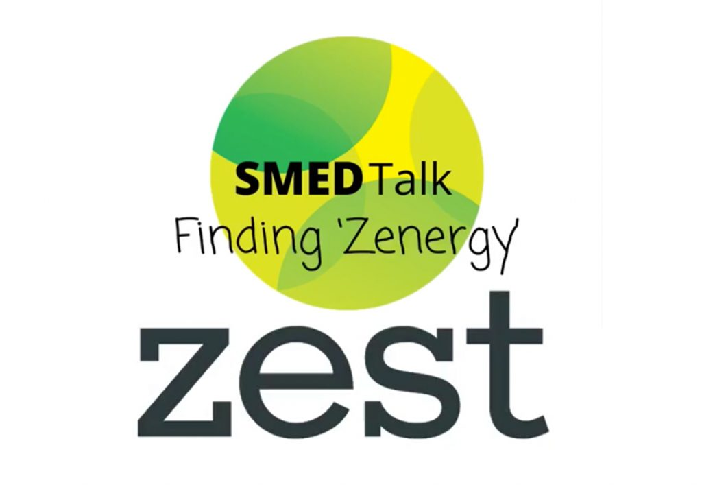 Smed Talk Finding Zenergy